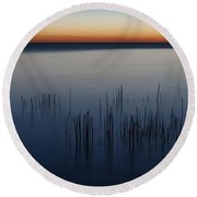 Morning Round Beach Towel by Scott Norris