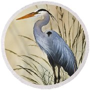 Natures Grace Round Beach Towel by James Williamson