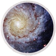 Perfect Spiral Round Beach Towel by Benjamin Yeager