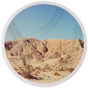Sometimes I See So Clearly Round Beach Towel by Laurie Search