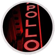 The Apollo Round Beach Towel by Ed Weidman