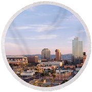 Usa, Arizona, Phoenix Round Beach Towel by Panoramic Images
