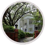 Southern Living Round Beach Towel by Karen Wiles