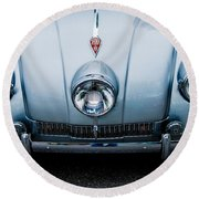 Round Beach Towel featuring the photograph 1947 Tatra T87 by M G Whittingham