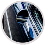 Round Beach Towel featuring the photograph 1950s Chevrolet by M G Whittingham