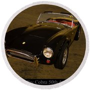 2012 Shelby Cobra 50th Anniversary  Round Beach Towel by Chris Flees