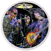 Stone Temple Pilots Collection Round Beach Towel by Marvin Blaine