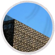 African American History And Culture 2 Round Beach Towel by Randall Weidner