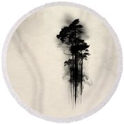 Enchanted Forest Round Beach Towel by Nicklas Gustafsson