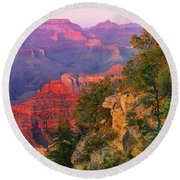 Canyon Allure Round Beach Towel by Mikes Nature