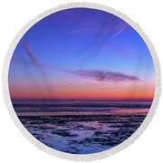 Round Beach Towel featuring the photograph Dream No More by Thierry Bouriat