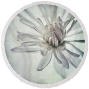 Focus On The Heart Round Beach Towel by Priska Wettstein