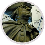 General George Washington Round Beach Towel by LeeAnn McLaneGoetz McLaneGoetzStudioLLCcom