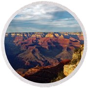 Grand Canyon No. 2 Round Beach Towel by Sandy Taylor