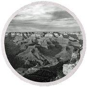 Grand Canyon No. 2-1 Round Beach Towel by Sandy Taylor