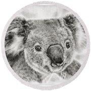 Koala Newport Bridge Gloria Round Beach Towel by Remrov