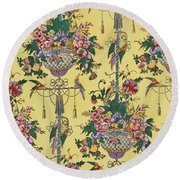 Melbury Hall Round Beach Towel by Harry Wearne
