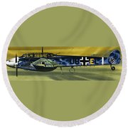 Messerschmitt Round Beach Towel by Wilf Hardy