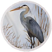 Nature's Gentle Beauty Round Beach Towel by James Williamson