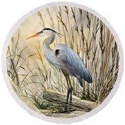 Nature's Wonder Round Beach Towel by James Williamson