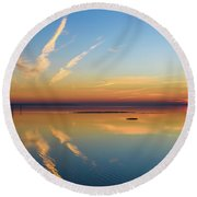 Round Beach Towel featuring the photograph Or'dinaire by Thierry Bouriat