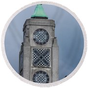 Oxo Tower Round Beach Towel by Dawn OConnor