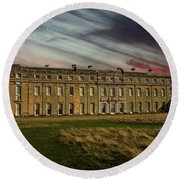Petworth House Round Beach Towel by Martin Newman