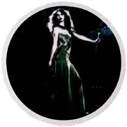 Queen Taylor Round Beach Towel by Brian Reaves