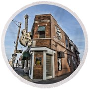 Sun Studio - Memphis #1 Round Beach Towel by Stephen Stookey