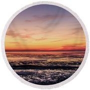 Round Beach Towel featuring the photograph The Other World by Thierry Bouriat