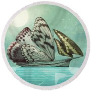 The Voyage Round Beach Towel by Eric Fan