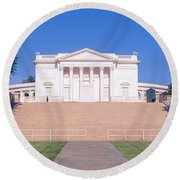 Tomb Of The Unknown Soldier, Arlington Round Beach Towel by Panoramic Images