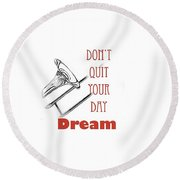 Trombone Fine Art Photographs Art Prints 5017.02 Round Beach Towel by M K  Miller