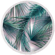 Tropicana  Round Beach Towel by Mark Ashkenazi