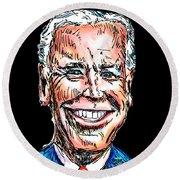 Vice President Joe Biden Round Beach Towel by Robert Yaeger