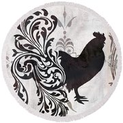 Weathervane II Round Beach Towel by Mindy Sommers