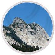 Yak Peak Round Beach Towel by Will Borden