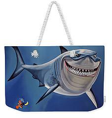 Finding Nemo Painting Weekender Tote Bag by Paul Meijering
