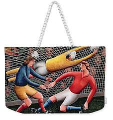 It's A Great Save Weekender Tote Bag by Jerzy Marek