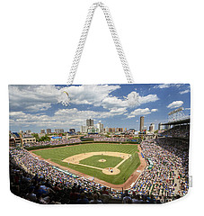 0415 Wrigley Field Chicago Weekender Tote Bag by Steve Sturgill