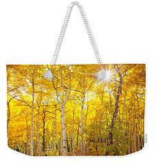Aspen Morning Weekender Tote Bag by Darren  White