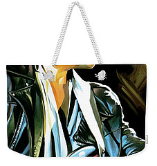 Bob Dylan Artwork 2 Weekender Tote Bag by Sheraz A