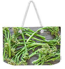 Broccoli Stems Weekender Tote Bag by Tom Gowanlock