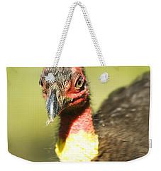 Brush Scrub Turkey Weekender Tote Bag by Jorgo Photography - Wall Art Gallery