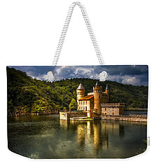 Chateau De La Roche Weekender Tote Bag by Debra and Dave Vanderlaan