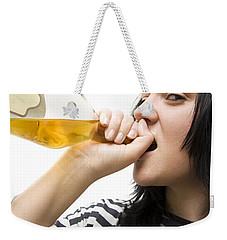 Drinking Detainee Weekender Tote Bag by Jorgo Photography - Wall Art Gallery