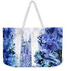 Duke Chapel Weekender Tote Bag by Ryan Fox