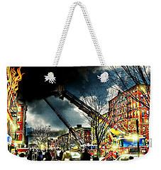Five Alarm Harlem Weekender Tote Bag by Diana Angstadt