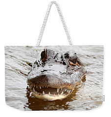 Gator Eyes Weekender Tote Bag by Carol Groenen