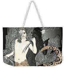 Gorgon Medusa  Weekender Tote Bag by Quim Abella